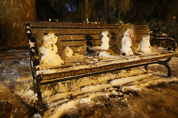 雪だるま「Massive Winter Storm Brings Snow And Heavy Winds Across Large Swath Of Eastern Seaboard」:写真・画像(16)[壁紙.com]
