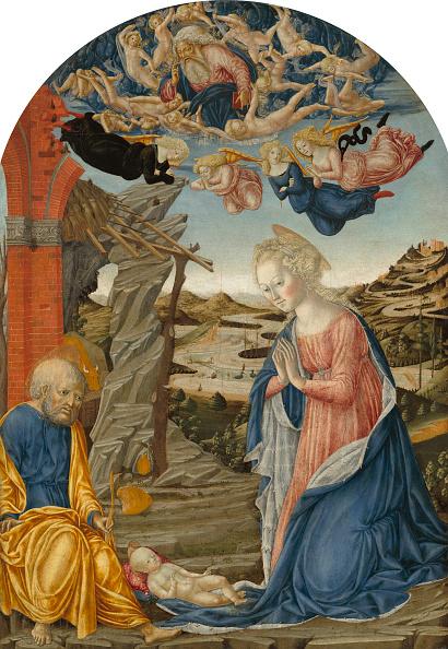 Angel「The Nativity. Creator: Francesco Di Giorgio Martini.」:写真・画像(13)[壁紙.com]