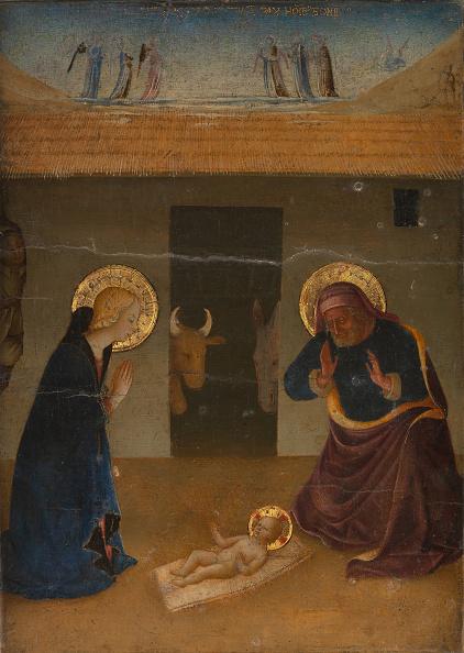 Gold Leaf「The Nativity. Creator: Zanobi Di Benedetto Strozzi.」:写真・画像(14)[壁紙.com]