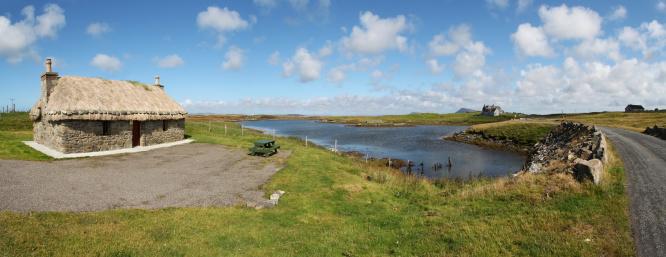 Croft「Crofter's cottage, Isle of Flodda」:スマホ壁紙(12)