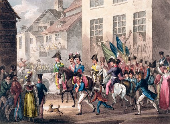 Surrendering「Entrance Of The Allies Into Paris March 31st 1814' 1815」:写真・画像(11)[壁紙.com]
