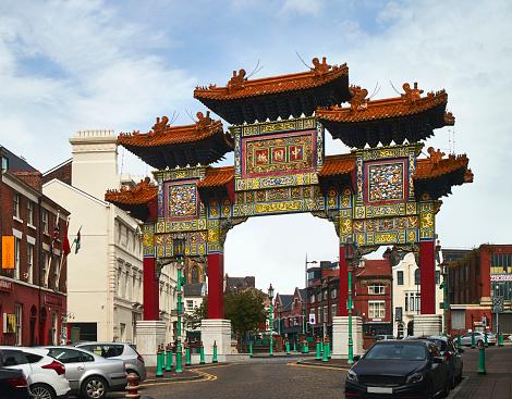 Dragon「Entrance of Liverpool's Chinatown.」:スマホ壁紙(4)