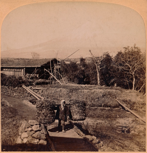富士山「'The Sacred Fujiyama, Highest Mountain In Japan', 1896」:写真・画像(1)[壁紙.com]