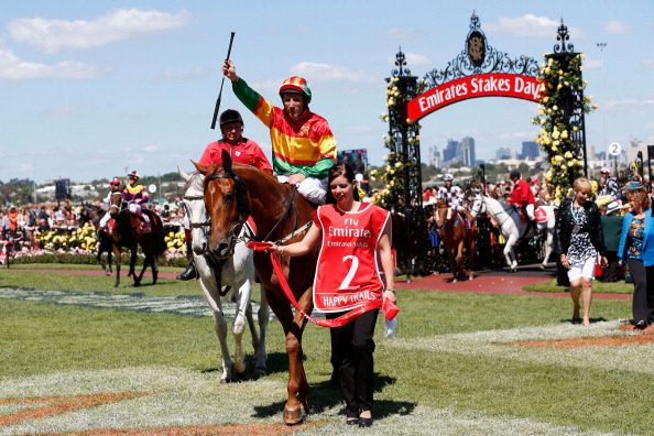 Damien Oliver「Highlights From Emirates Stakes Day」:写真・画像(12)[壁紙.com]