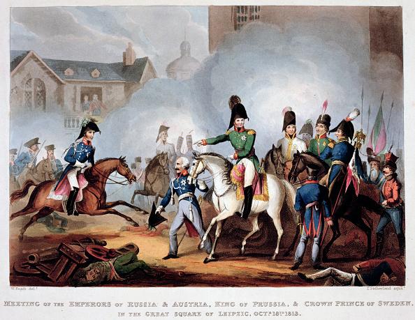 カラー画像「The Allied Commanders At Leipzig 1813 (1815)」:写真・画像(3)[壁紙.com]