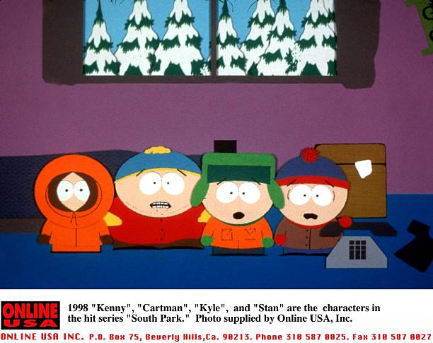 """1998 """"Kenny"""", """"Cartman"""", """"Kyle"""", and """"Stan"""" are the characters in the hit series """"South Park."""":ニュース(壁紙.com)"""