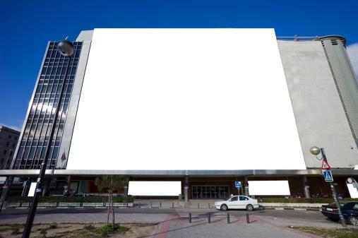 Marketing「Megabig billboard in facade of mall」:スマホ壁紙(2)