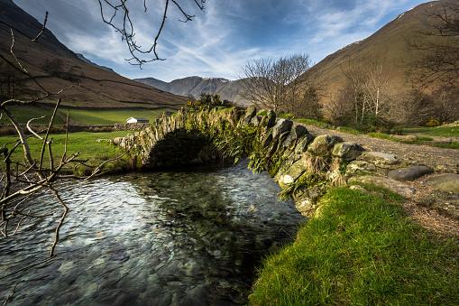 Water's Edge「Packhorse Bridge - Wasdale - Lake District」:スマホ壁紙(7)