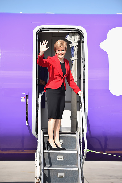 Politics and Government「Nicola Sturgeon Departs To Attend VE Day Commemorations In London」:写真・画像(18)[壁紙.com]