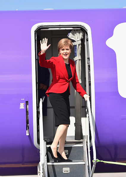 Politics and Government「Nicola Sturgeon Departs To Attend VE Day Commemorations In London」:写真・画像(17)[壁紙.com]