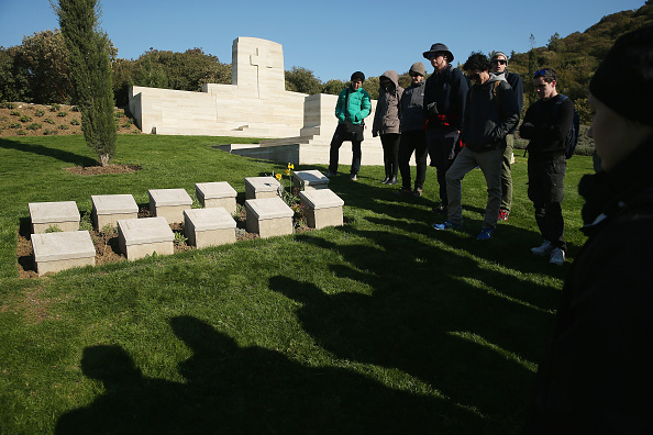 Sean Gallup「The Gallipoli Campaign: Gravestones Of Fallen Soldiers」:写真・画像(4)[壁紙.com]