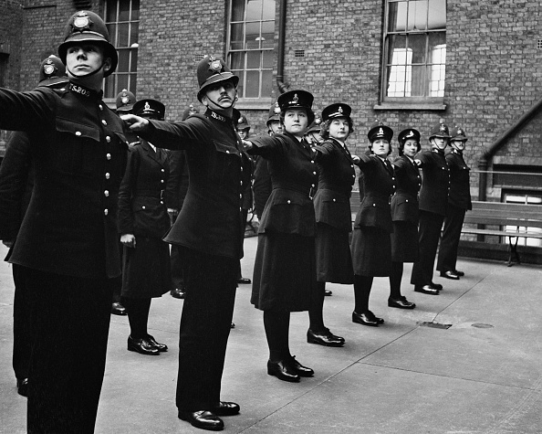People In A Row「Police Cadets On Parade」:写真・画像(12)[壁紙.com]