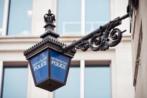 Power Supply「Metropolitan Police Lantern in London」:スマホ壁紙(2)