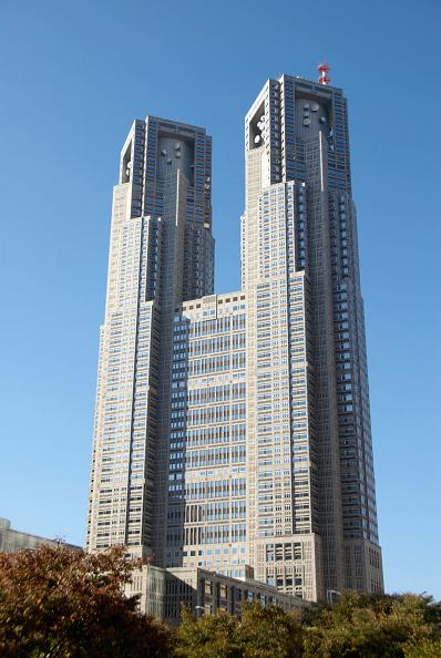 Shinjuku Ward「Metropolitan City Hall in Shinjuku Tokyo, Japan ; Architect Kenzo Tange」:写真・画像(12)[壁紙.com]