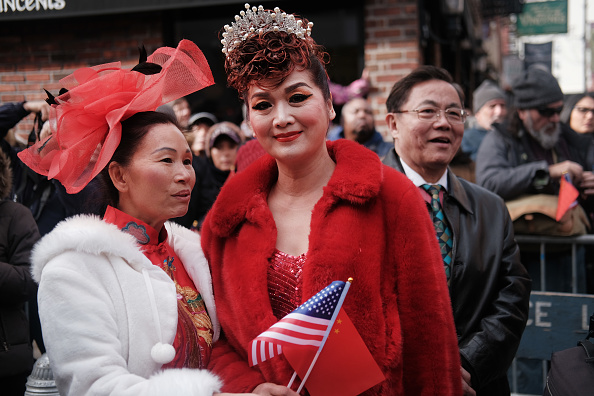 Chinese Culture「New York's Annual Lunar New Year Day Parade Winds Through Chinatown」:写真・画像(3)[壁紙.com]