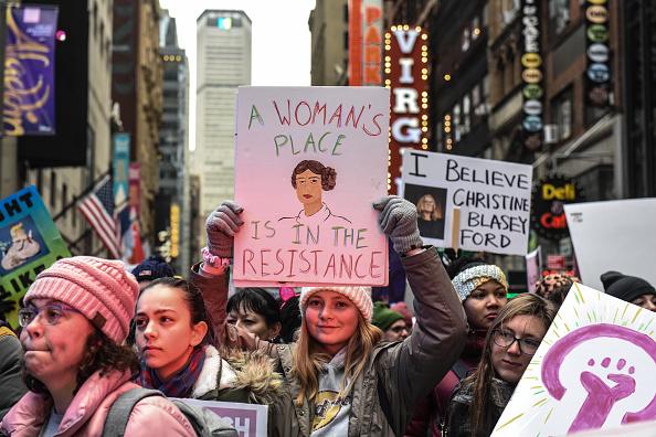 ヒューマンインタレスト「Annual Women's March Takes Place In Cities And Towns Across The Country」:写真・画像(5)[壁紙.com]
