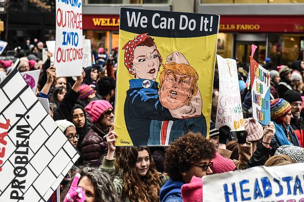 ヒューマンインタレスト「Annual Women's March Takes Place In Cities And Towns Across The Country」:写真・画像(2)[壁紙.com]