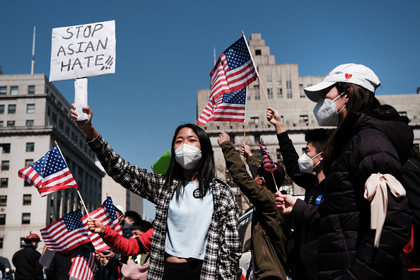 Prejudice「Large Rally To Stop Asian Hate Held In New York City」:写真・画像(12)[壁紙.com]
