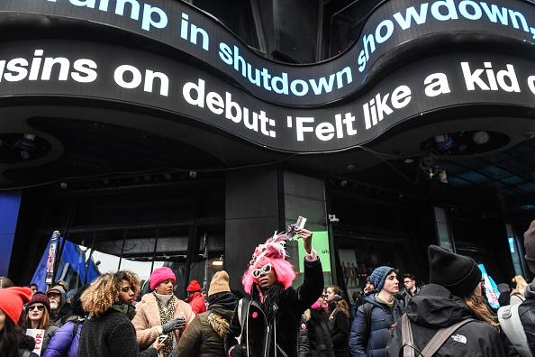 ヒューマンインタレスト「Annual Women's March Takes Place In Cities And Towns Across The Country」:写真・画像(1)[壁紙.com]