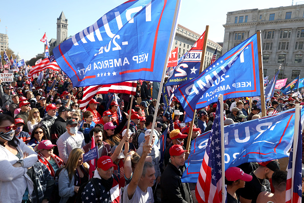 "Protest「Pro-Trump Right Wing Groups Hold ""Million MAGA March"" To Protest Election Results」:写真・画像(11)[壁紙.com]"