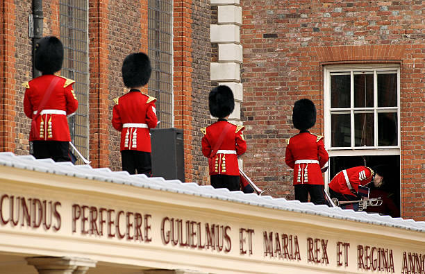 Chelsea Pensioners Participate In The Founder's Parade At The RHC:ニュース(壁紙.com)