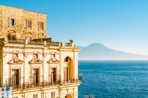 Baroque Style「Villa Donn'Anna, Bay of Naples, Italy.」:スマホ壁紙(15)