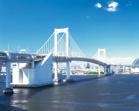 Rainbow Bridge - Tokyo「Rainbow bridge, Tokyo Prefecture, Honshu, Japan」:スマホ壁紙(3)
