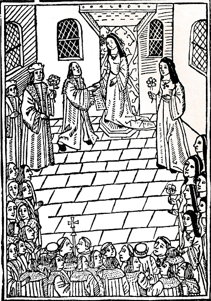 Woodcut「'Treaty of marriage between Charles V and Princess Mary Tudor', c1508.」:写真・画像(8)[壁紙.com]