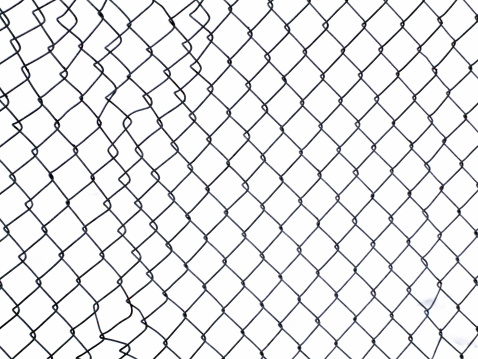 Chainlink Fence「Fence with Clipping path」:スマホ壁紙(10)