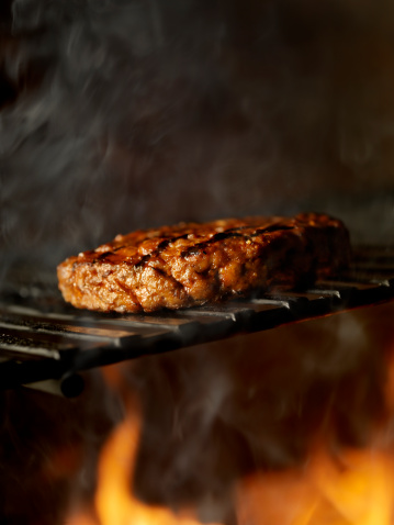 Hamburger「BBQ Hamburger on the Grill」:スマホ壁紙(8)
