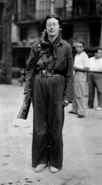 Philosopher「Simone Weil (1909-1943) french philosopher, here in 1936 during spanish civil war when she was in the Durruti Column」:写真・画像(0)[壁紙.com]