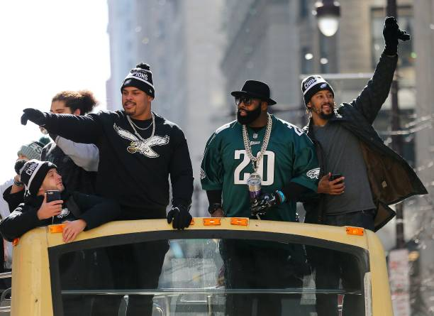 Philadelphia - Pennsylvania「Super Bowl LII - Philadelphia Eagles Victory Parade」:写真・画像(12)[壁紙.com]