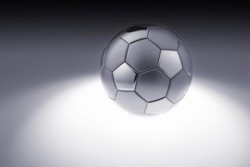 Iron - Metal「Grey metal soccer ball」:スマホ壁紙(15)
