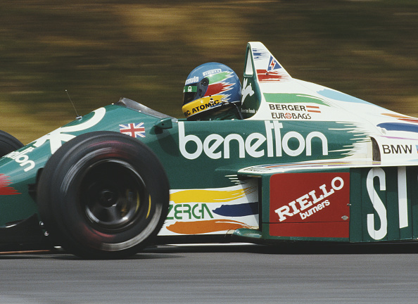 Benetton「Shell Oils Grand Prix of Great Britain」:写真・画像(0)[壁紙.com]