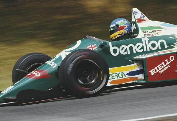 Benetton「Shell Oils Grand Prix of Great Britain」:写真・画像(13)[壁紙.com]