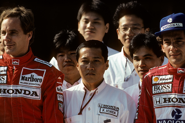 Japanese Formula One Grand Prix「Gerhard Berger, Ayrton Senna, Grand Prix Of Japan」:写真・画像(10)[壁紙.com]