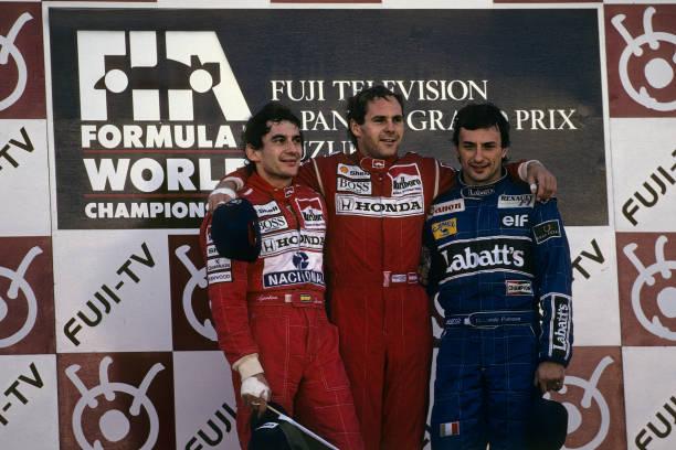 Japanese Formula One Grand Prix「Gerhard Berger, Ayrton Senna, Ricardo Patrese, Grand Prix Of Japan」:写真・画像(2)[壁紙.com]