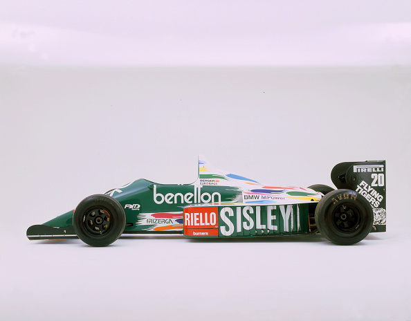 Model - Object「1986 Benetton BMW B186」:写真・画像(7)[壁紙.com]