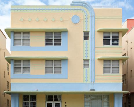 Miami Beach「サウスビーチの建築」:スマホ壁紙(3)