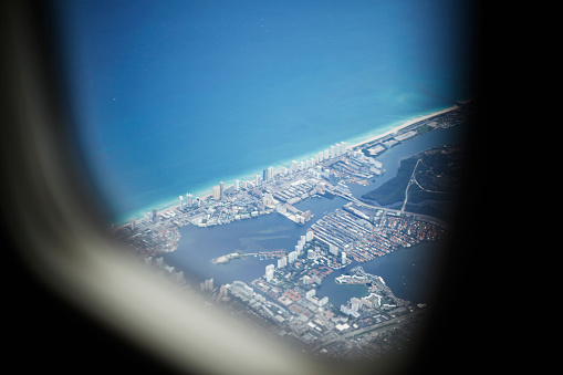 Miami Beach「South Beach from the air」:スマホ壁紙(5)