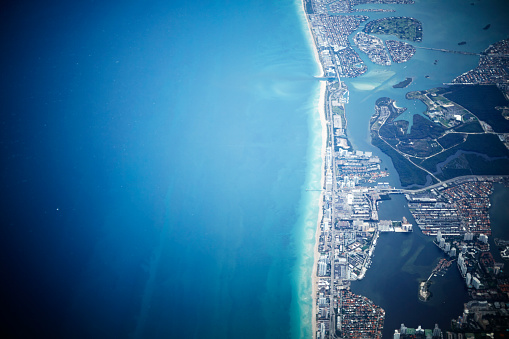 Miami Beach「South Beach from the air」:スマホ壁紙(6)
