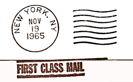 Postmark「New York Vintage Postmark」:スマホ壁紙(4)