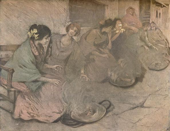 Side By Side「Braseros, c1875-1906, (1906). Artist: Allan Osterlind」:写真・画像(5)[壁紙.com]