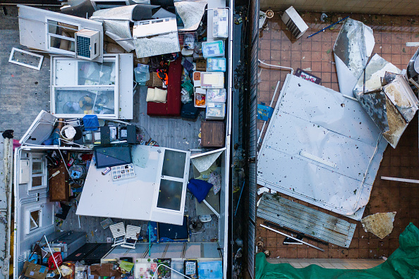 Lam Yik Fei「Hong Kong Sets Highest Storm Alert As Super Typhoon Mangkhut Arrives」:写真・画像(12)[壁紙.com]