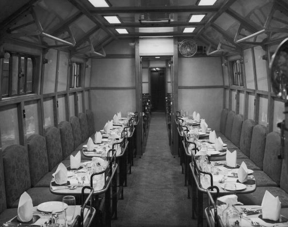 Railroad Car「Restaurant Car」:写真・画像(12)[壁紙.com]