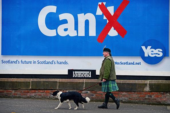 Glasgow - Scotland「Glasgow Prepares For The Independence Vote」:写真・画像(9)[壁紙.com]