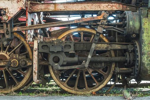 SL「Bulgaria, wheels of an old steam locomotive」:スマホ壁紙(6)