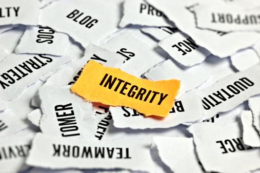Morality「Integrity Word On Paper」:スマホ壁紙(6)