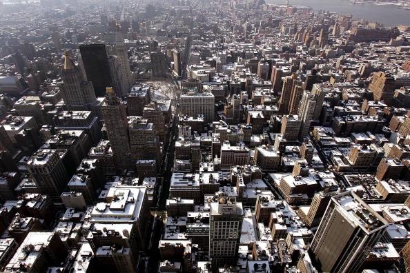 都市景観「New York City Blanketed With Snow」:写真・画像(3)[壁紙.com]