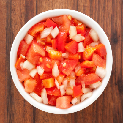 Onion「Tomato salad」:スマホ壁紙(13)